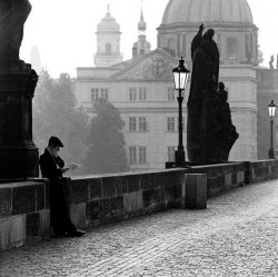Morning Light – Charles IV Bridge, Prague, 2000